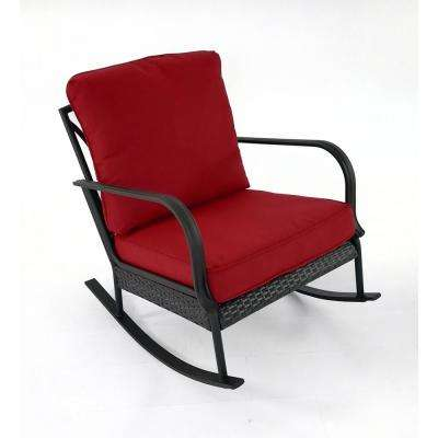 Becker 2-Piece Wicker Outdoor Lounge Chair Set with CYOC Cushions