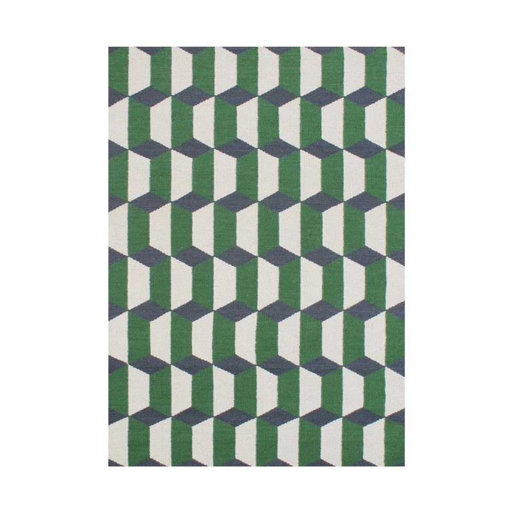 Forest Green 5 Ft X 8 Area Rug