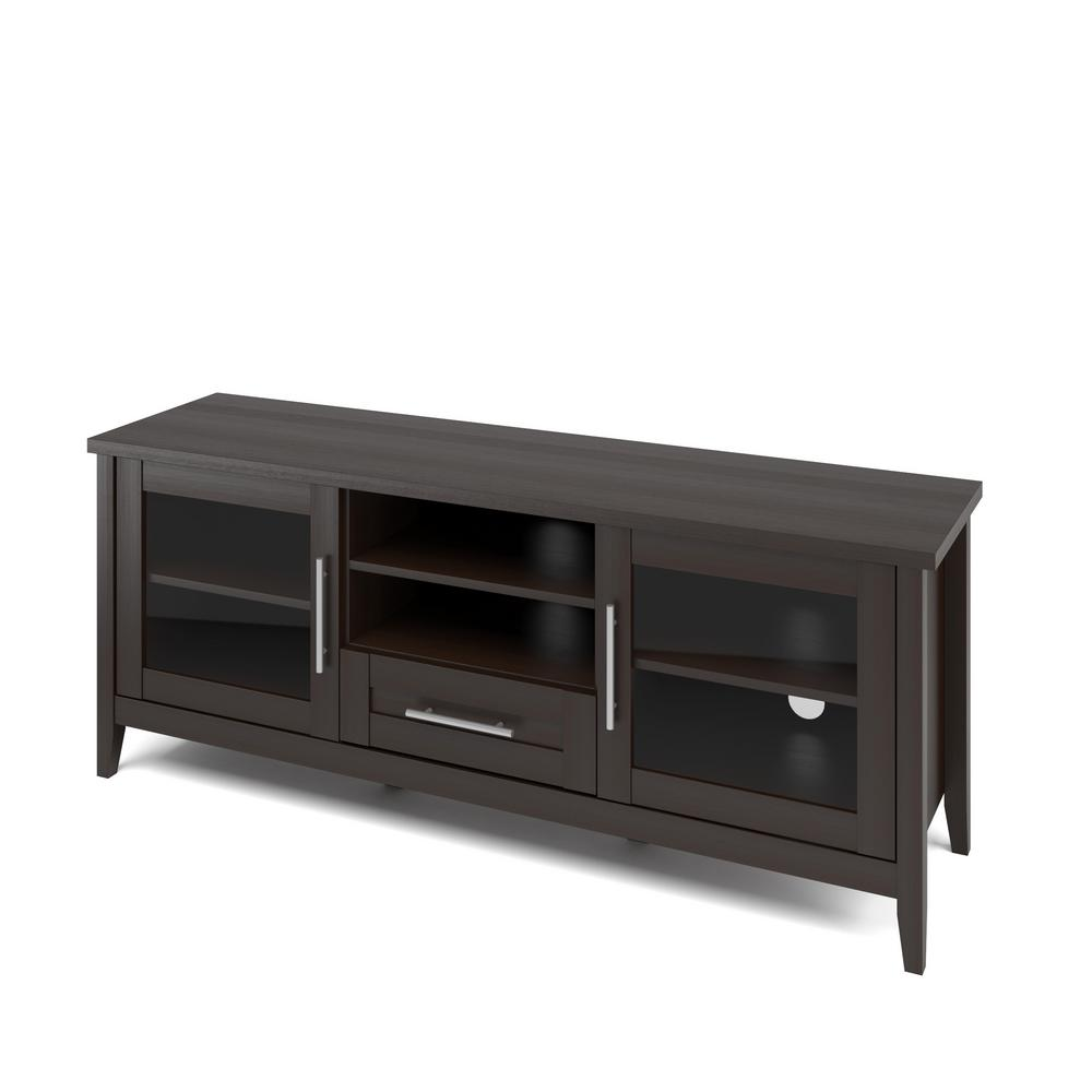 Homesullivan Espresso Bench 402456 13 The Home Depot