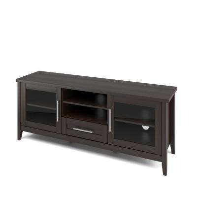 Jackson TV Bench in Espresso for TVs up to 65 in.