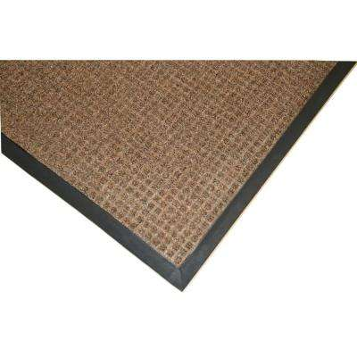 Town N Country 4 ft. x 6 ft. Brown Entrance Mat