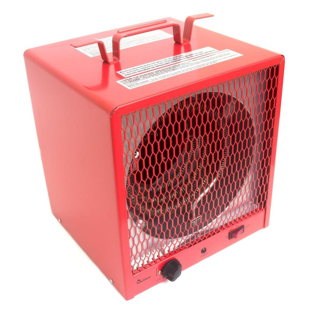 Series 5600 Watt 240 Volt Portable Garage Heater With Thermostat