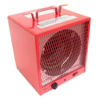 Industrial series 5600-Watt 240-Volt Portable Garage Heater with Thermostat