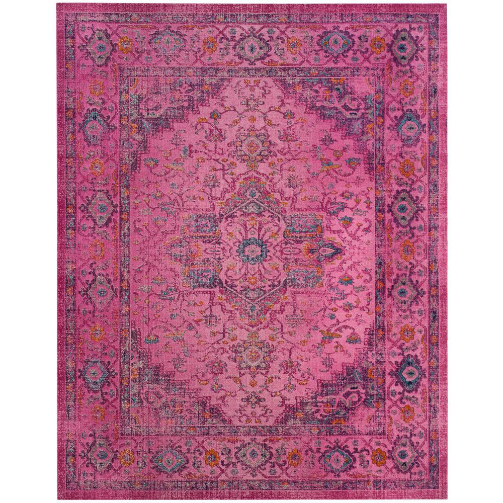 safavieh artisan fuchsia 9 ft x 12 ft area rug atn330f 9 the home depot. Black Bedroom Furniture Sets. Home Design Ideas