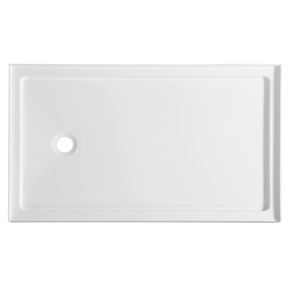 Colossi Series 60 in. x 36 in. Single Threshold Shower Base