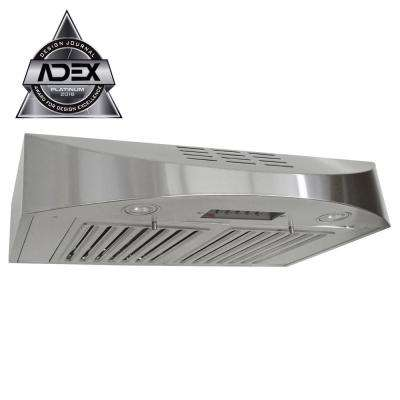 Series 30 in. 400 CFM Ductless Under Cabinet Range Hood in Stainless Steel