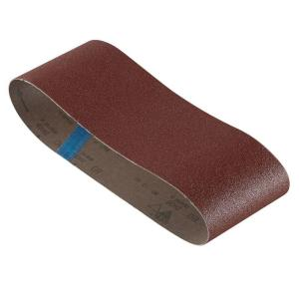 Bosch 4 inch x 24 inch 80-Grit Red Sanding Belt (3-Pack) by Bosch