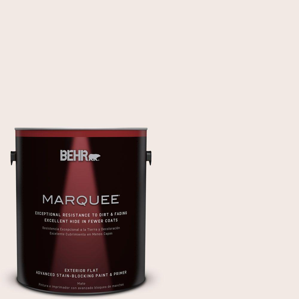 BEHR MARQUEE 1-gal. #ECC-61-2 Stonewashed Pink Flat Exterior Paint