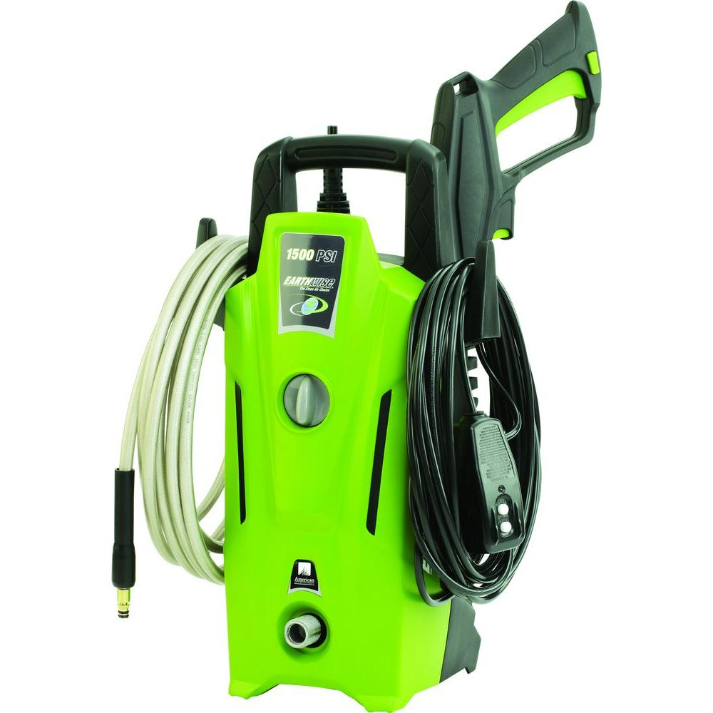 Earthwise 1 500 Psi 3 Gpm Electric Pressure Washer