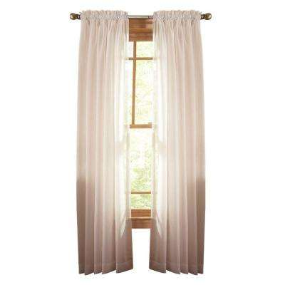 Fine Sheer Rod Pocket Curtain