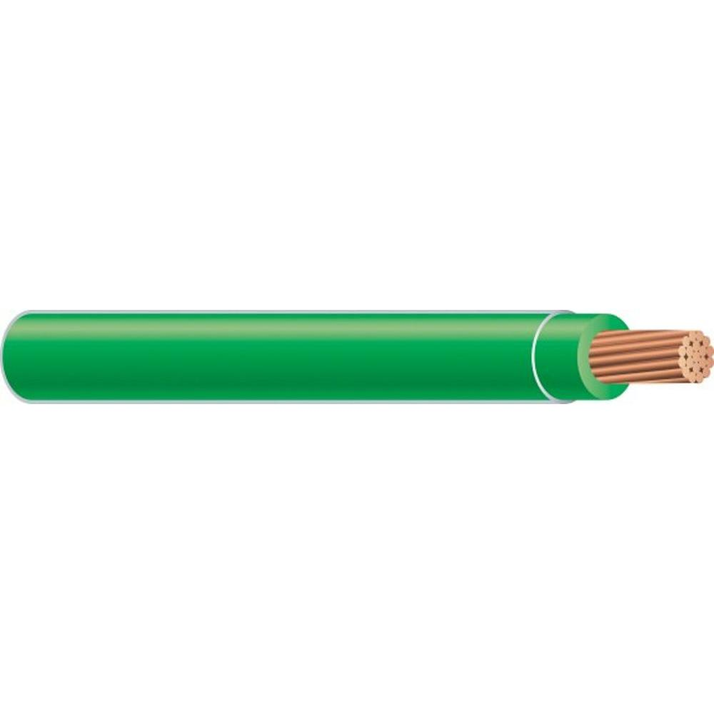 Southwire (By-the-Foot) 6 Green Stranded CU SIMpull THHN Wire ...