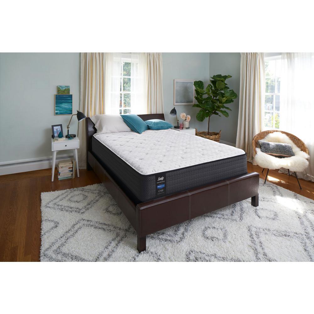 twin xl cushion firm faux euro top mattress