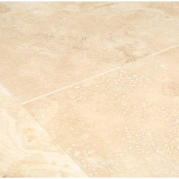 Daltile Travertine Durango 12 In X 12 In Natural Stone Floor And Wall Tile 10 Sq Ft Case T71412121u The Home Depot