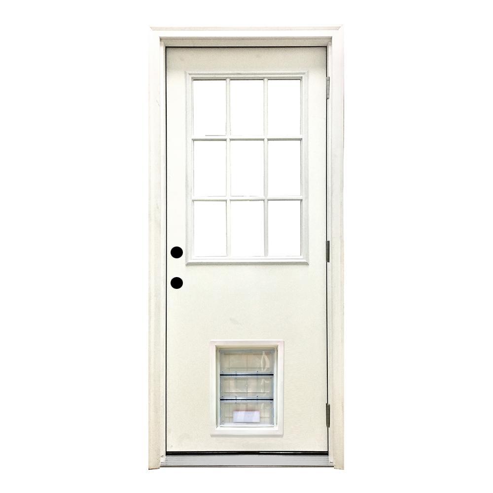 32 X 80 Left Handoutswing Front Doors Exterior Doors The