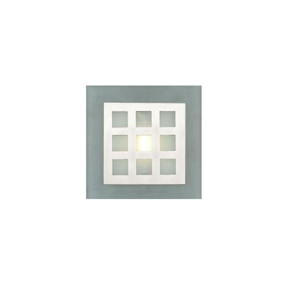 1-Light Satin Nickel Sconce with Matte Opal Glass Shade