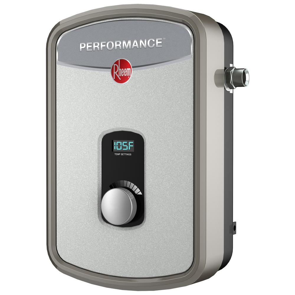 Electric Tankless Water Heater Rheem Performance Self
