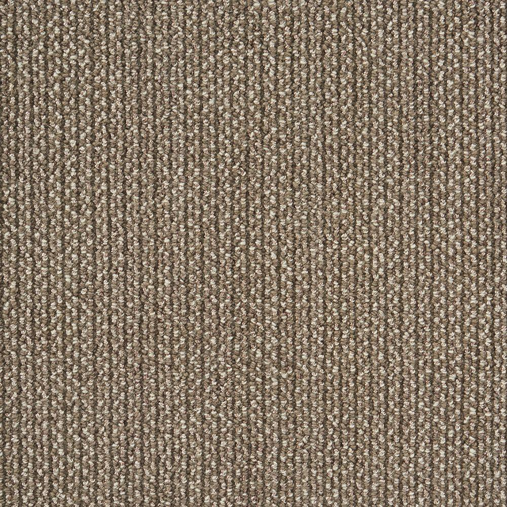 Panorama Tweed Driftwood Custom Area Rug with Pad