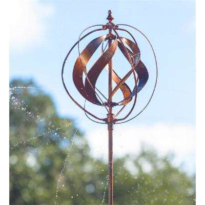 Copper 89 in. Hydro and Wind Spinner