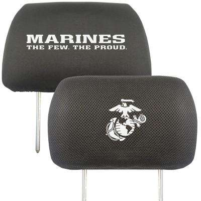 U.S. Marines Embroidered Head Rest Covers (2-Pack)