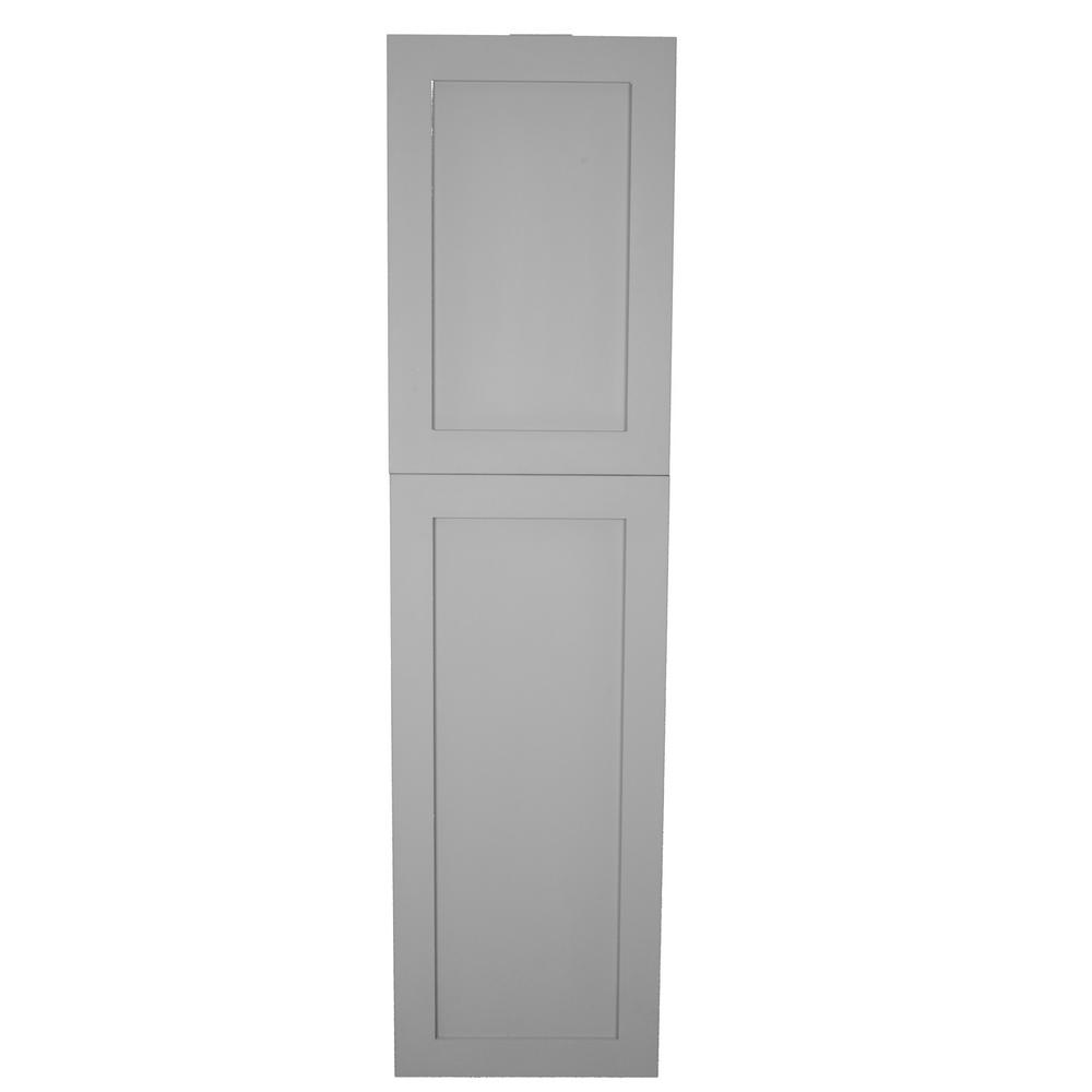 Frameless Kitchen Cabinets Home Depot: Silverton 14 In. X 56 In. X 4 In. Frameless Recessed