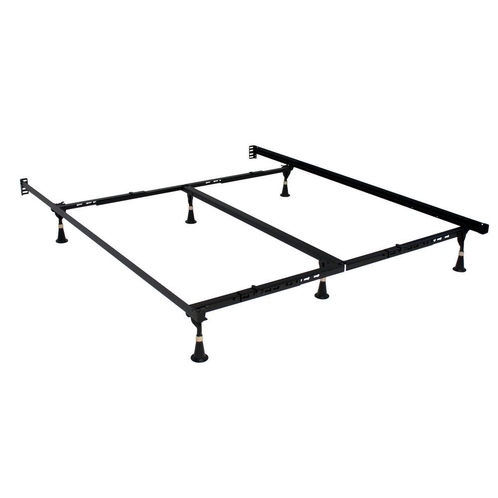 Beautyrest Adjustable Metal Bed Frame SIM-3270BSG-I