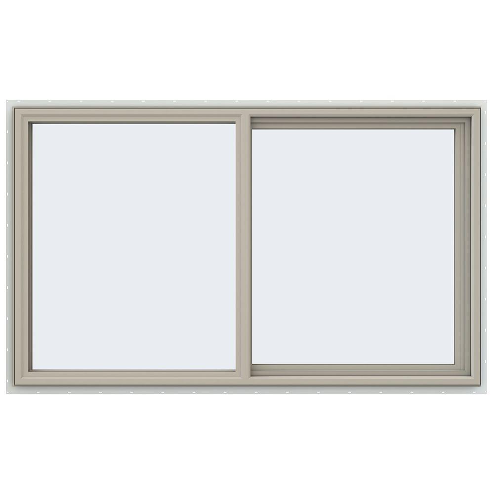 59.5 in. x 35.5 in. V-4500 Series Right-Hand Sliding Vinyl Window