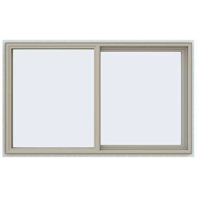 59.5 in. x 35.5 in. V-4500 Series Right-Hand Sliding Vinyl Window - Tan