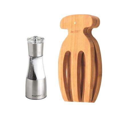 Bamboo Salad Hands and Duo Salt and Pepper Set
