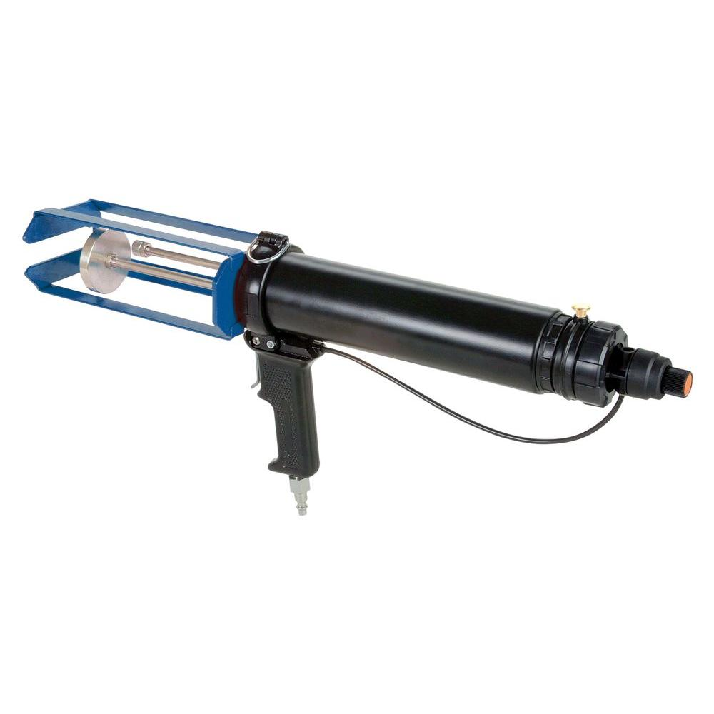 COX 400 ml Total System Multi-Ratio Dual Cartridge Pneumatic Epoxy Applicator Gun