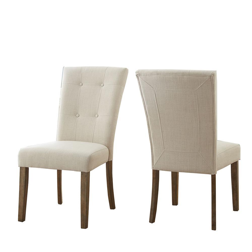 Debby Beige Side Chair (Set of 2)