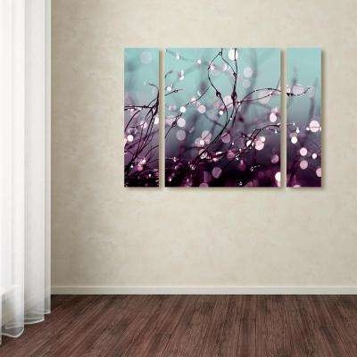 """30 in. x 41 in. """"Over the Rainbow"""" by Beata Czyzowska Young Printed Canvas Wall Art"""
