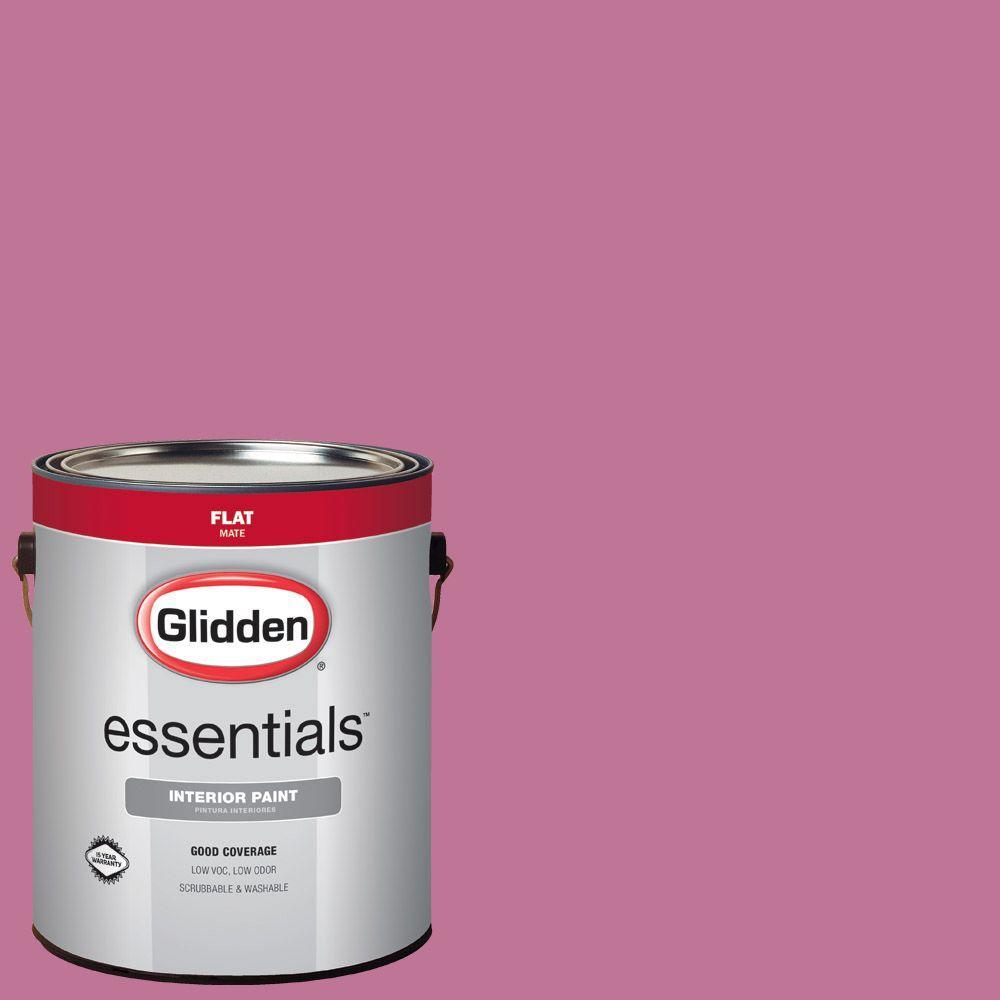 Hdgr02d Rose Petal Pink Flat Interior Paint