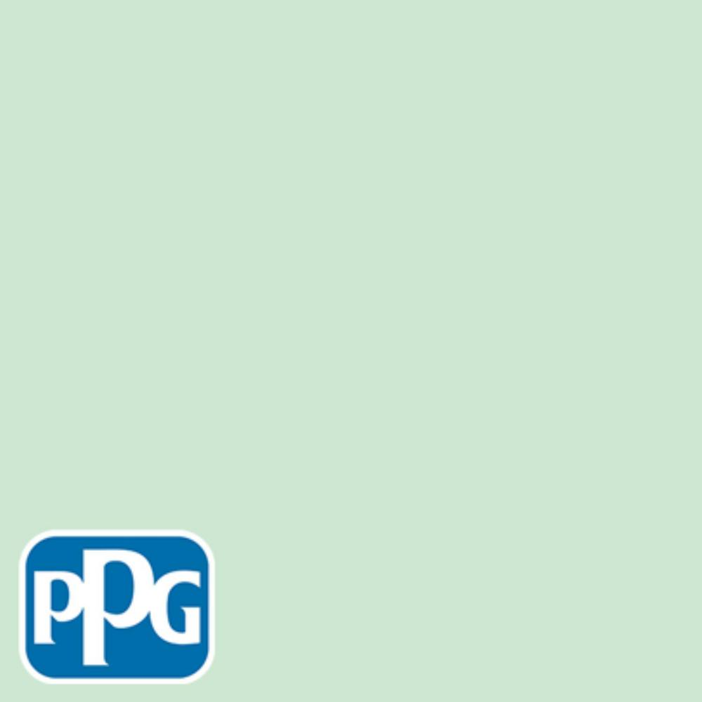 PPG TIMELESS 8 oz. #HDPPGG55 Sublime Lime Satin Interior/Exterior Paint Sample