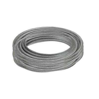3/32 in. x 50 ft. Galvanized Vinyl Coated Steel Wire Rope