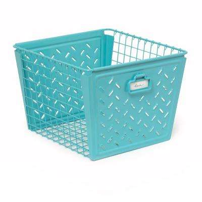 Spectrum Macklin Large Basket in Teal