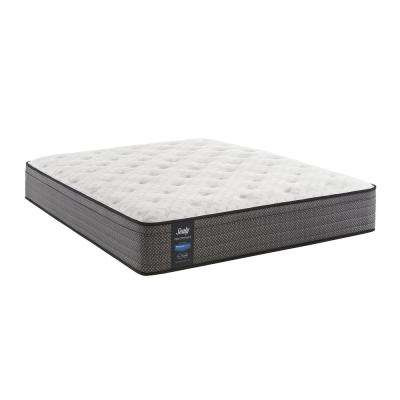 Response Performance 13 in. California King Cushion Firm Faux Euro Top Mattress
