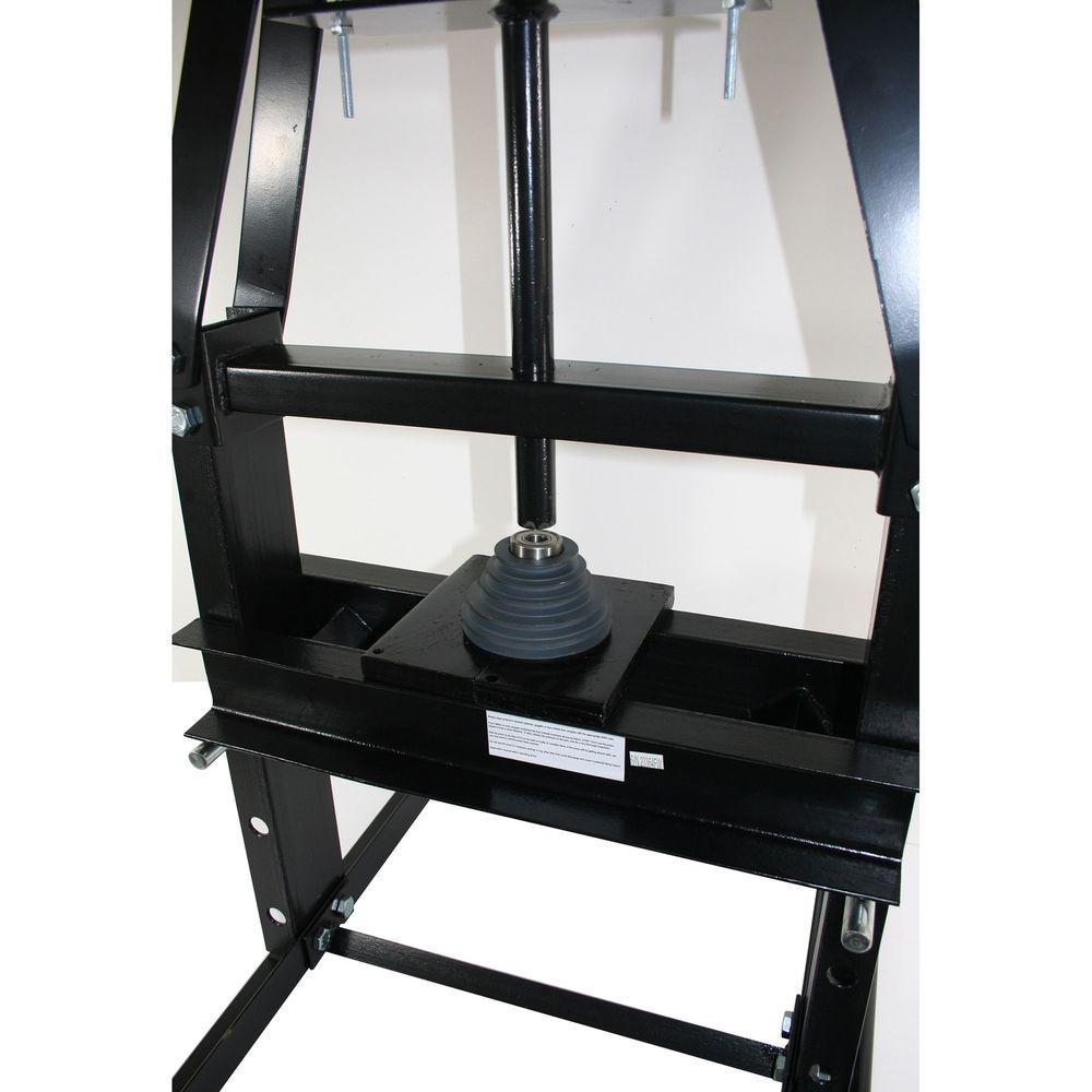 Adjustable Height from 0-30 cm 6 Ton Heavy Duty Hydraulic Workshop Garage Shop Press Standing Press