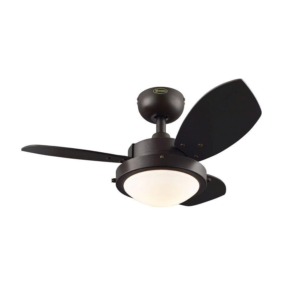 Westinghouse wengue 30 in indoor chrome finish ceiling fan indoor chrome finish ceiling fan 7876300 the home depot aloadofball Gallery