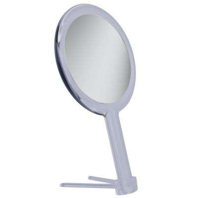 1X/5X Hand Makeup Mirror in Acrylic