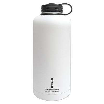 Vacuum-Insulated Barrel Growler 64 oz. Winter White