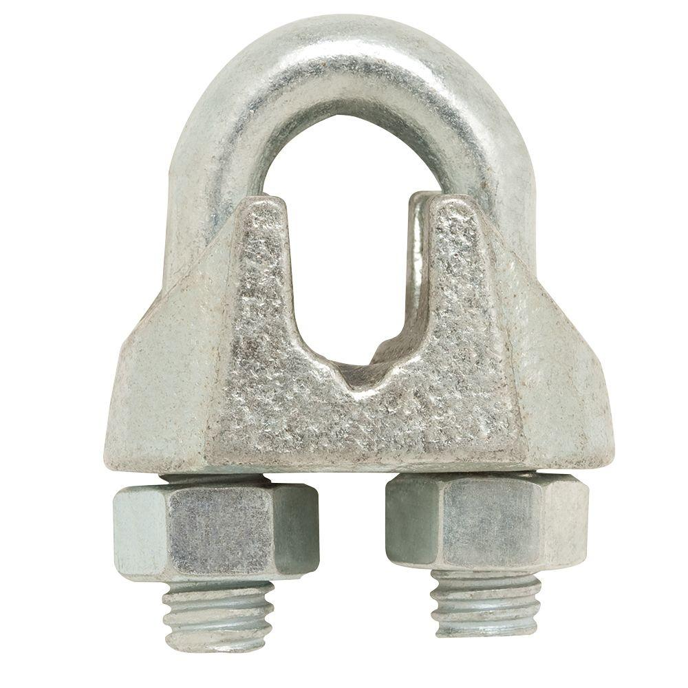 Crown Bolt 5/8 in. Wire Rope Clip-55334 - The Home Depot