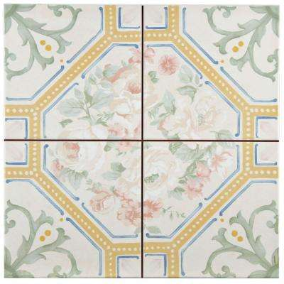Victorian Lure 13 in. x 13 in. Ceramic Floor and Wall Tile (12.3 sq. ft. / case)