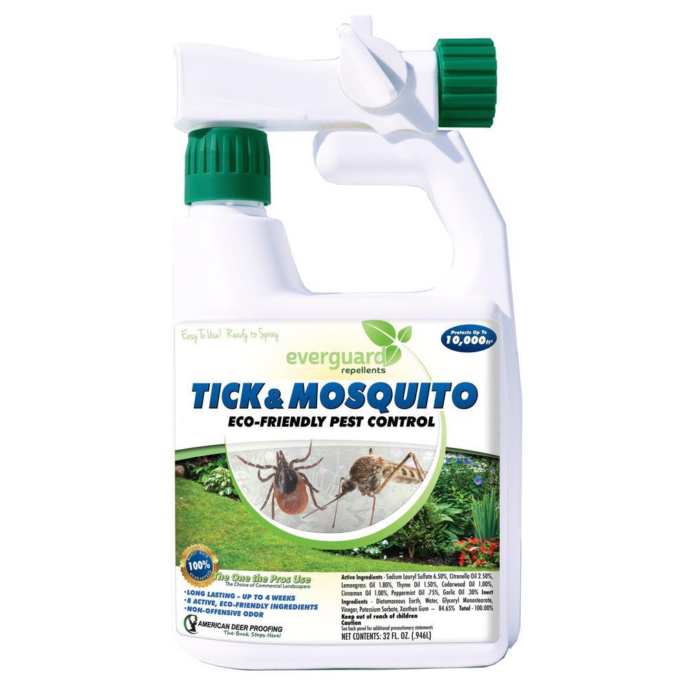 Everguard Everguard 32oz Hose End Tick And Mosquito Repellent Adptm32r The Home Depot