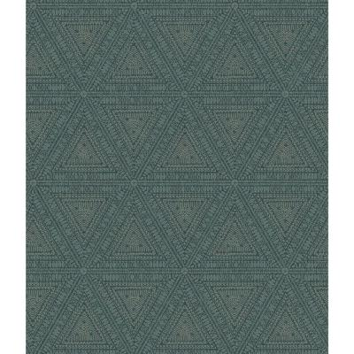 56 sq. ft. Norse Tribal Wallpaper