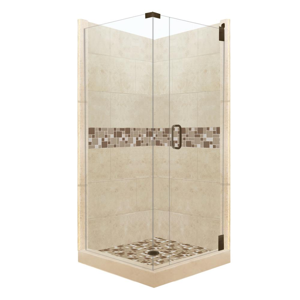Tuscany Grand Hinged 38 in. x 38 in. x 80 in.