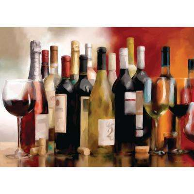 Morgan Home Multi Wine Party Placemat Set (4-Pack)