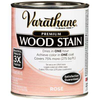 1 Qt. Rose Premium Fast Dry Interior Wood Stain (2-Pack)