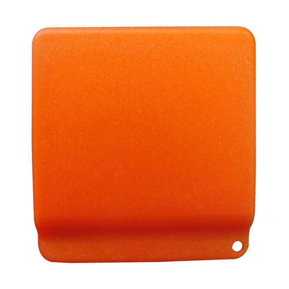 Hard Hat Pencil Clip in Orange
