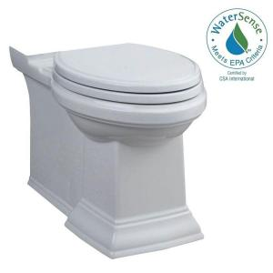American Standard Town Square Chair Height Elongated Toilet Bowl Only in White by American Standard