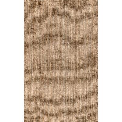 Pata Chunky Natural 8 ft. x 10 ft. Area Rug
